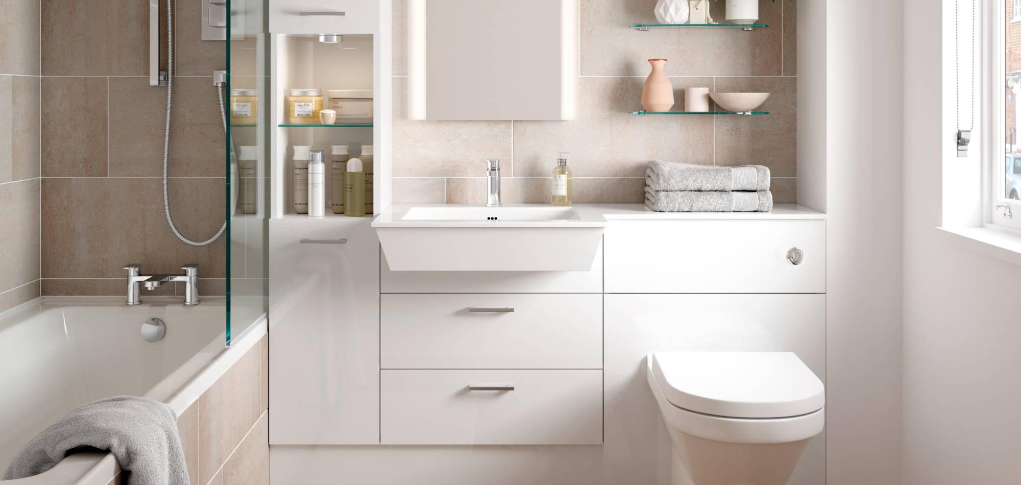 mereway bathrooms adriatic white gloss