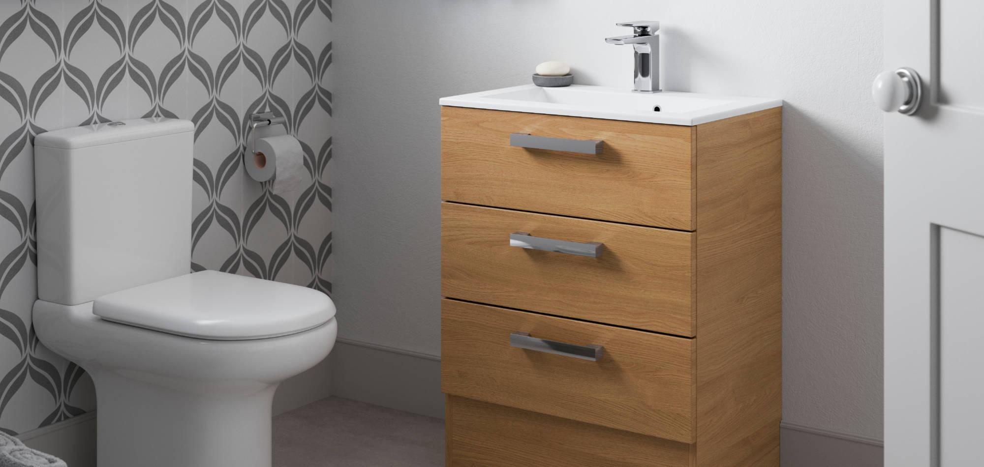 mereway bathrooms java light oak