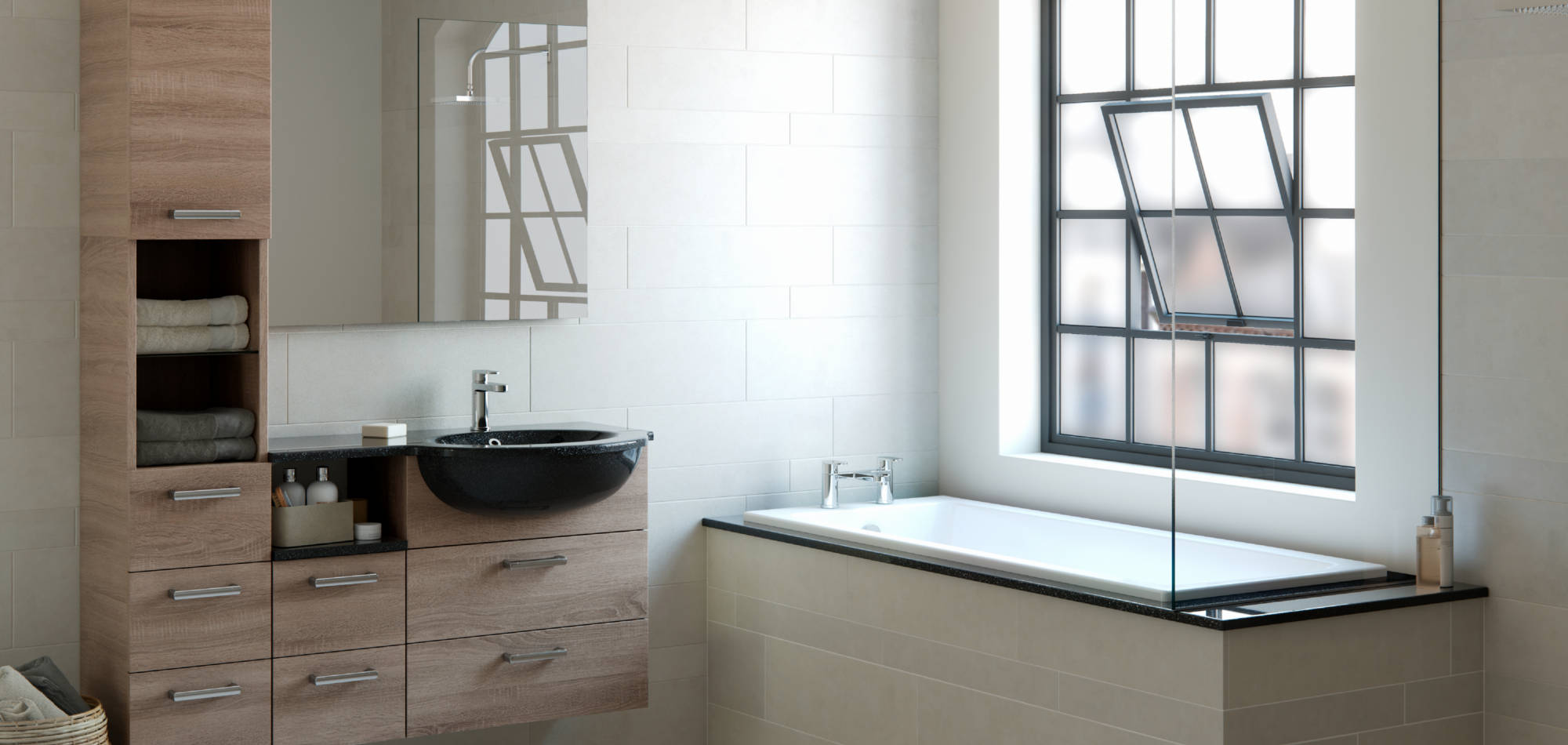 mereway bathrooms java truffle bardolino