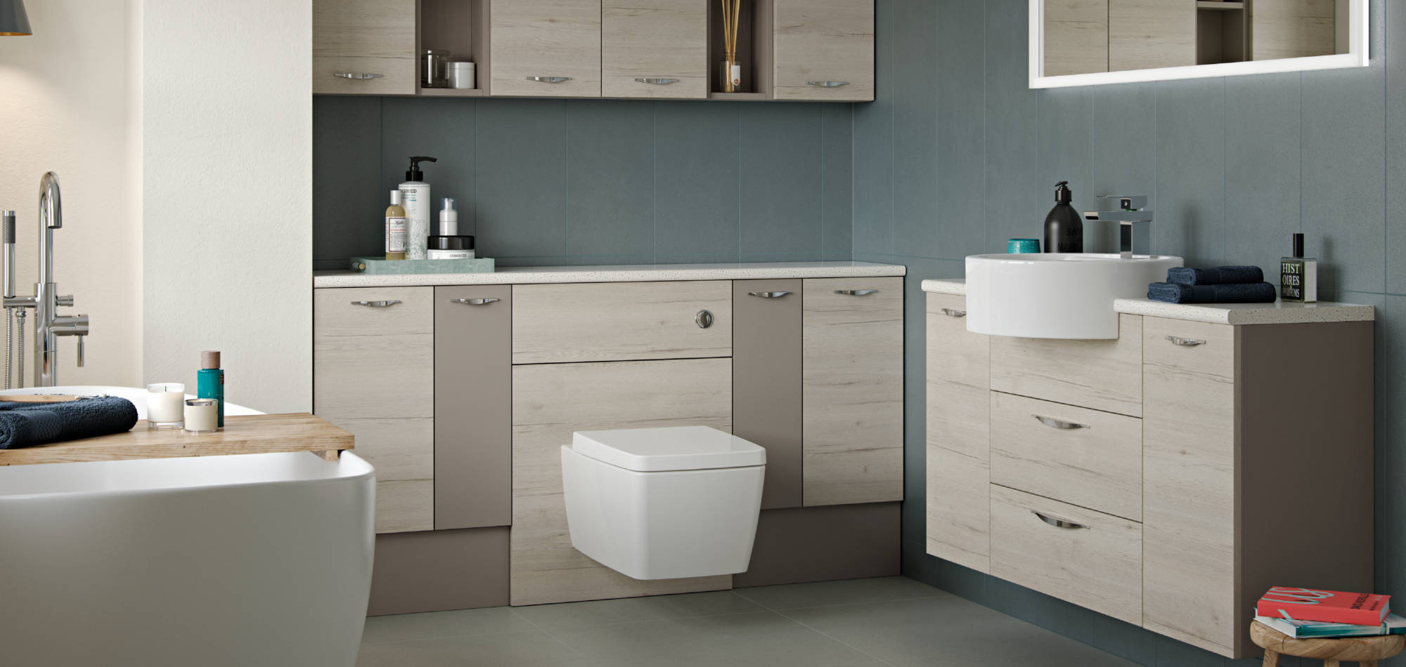 mereway bathrooms vogue blonde oak
