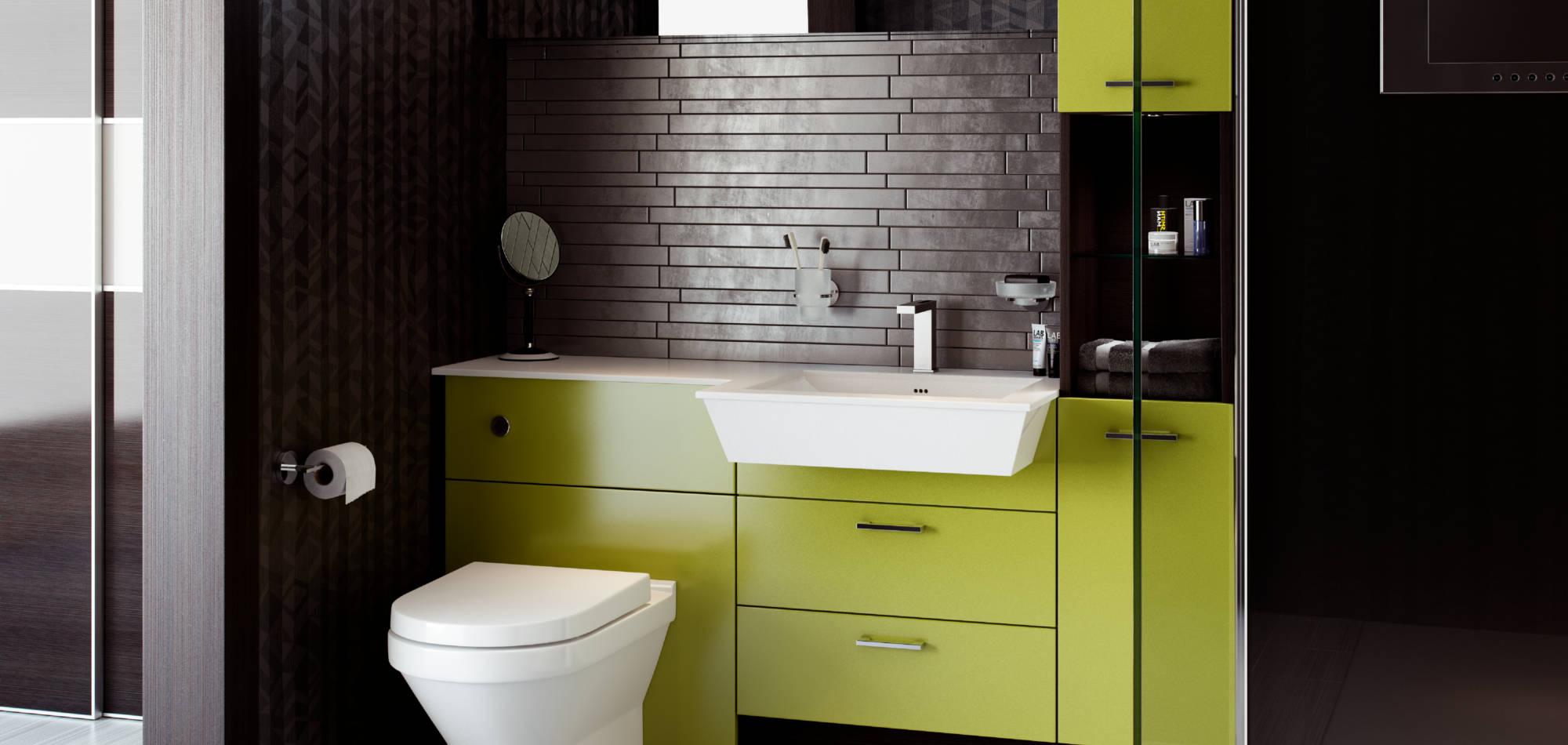 mereway bathrooms vogue lime silk