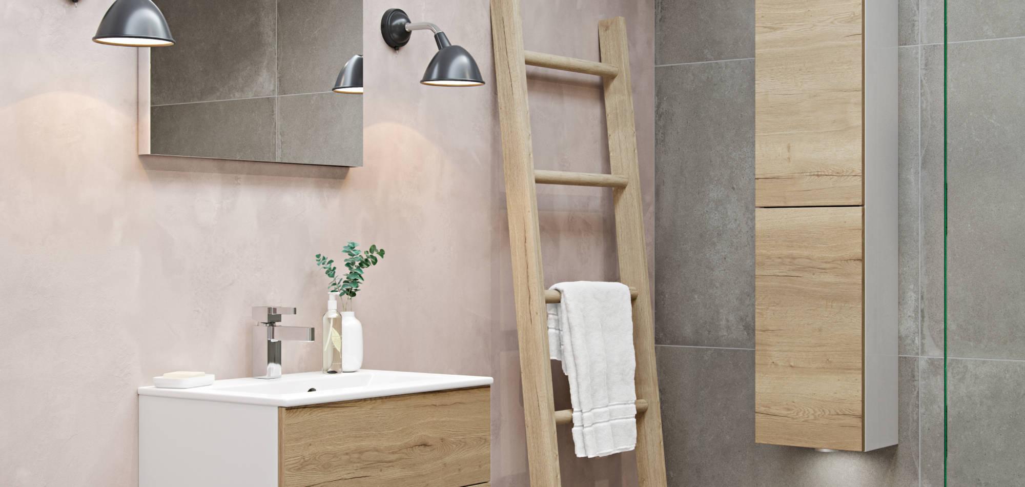 mereway bathrooms vogue natural oak