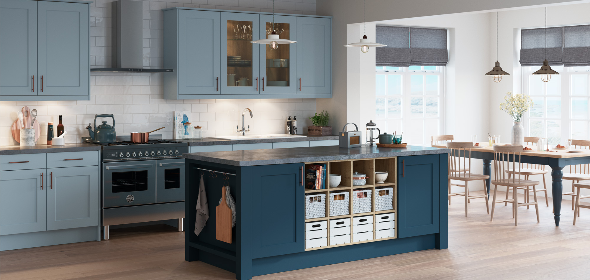 Town And Country >> Town Country Collection Shaker Kitchens Mereway Kitchens