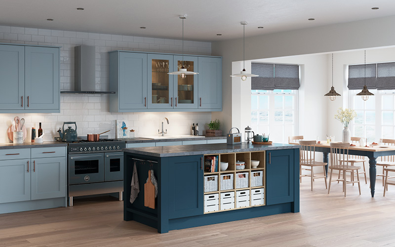 Charnwood – Denim Blue & Dusk Blue